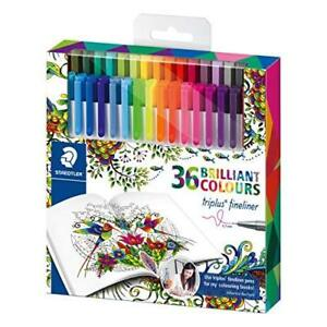 Triplus Johanna Basford Design Pen Assorted pack Of 26