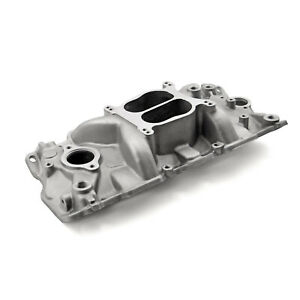 Fits Chevy Sbc 350 1957 95 Egr Low Rise Dual Plane Aluminum Intake Manifold