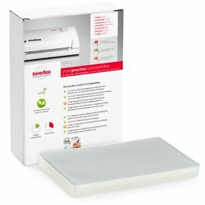 New Swedex 3mil 12 X 18 Menu Size High Speed Laminating Pouches 100pk