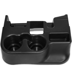 Cup Holder Insert Fits 99 01 Dodge Ram 1500 Black Front Center Console Liner