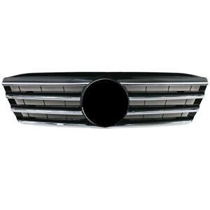 Front Black Avantgarde Grille Mask For Mercedes Benz W203 C280 C320 C350 2000 07