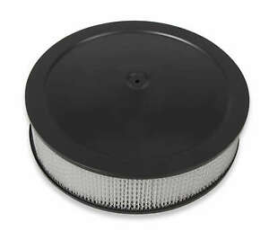 Holley 120 4235 4150 Drop Base Air Cleaner Black W 3 Paper Filter