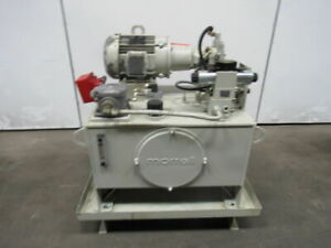 Morrell Hydraulic Power 5hp Unit 40 Gal 230 460v Rexroth Pump A10vso18dsr 31r