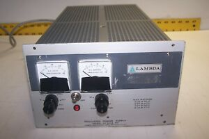 Lambda Regulated Power Supply Lk 343a Fm