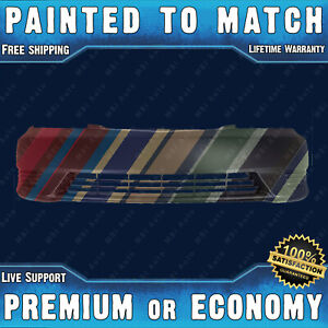 Painted To Match Front Bumper Cover Replacement 2005 2006 Toyota Camry W O Fog