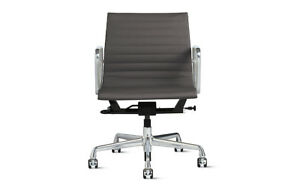 Eames Aluminum Management Chair With Pneumatic Lift Slate Herman Miller Dwr
