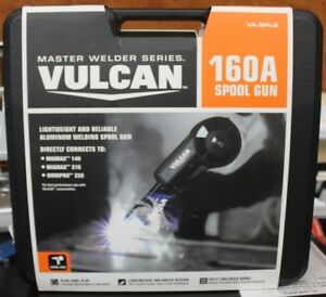 Vulcan 160a Model 63793 Va splg Aluminum Welding Spool Gun Kit W Carrying Case