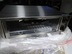 New Stainless Euro Pro Pizza Oven Model T0297w