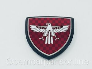 Toyota 1985 1989 Mr2 Aw11 Front Hood Eagle Emblem Red Badge Mk1 Genuine Oem Mr2