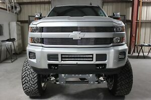 Gtg 2015 2019 Chevy Silverado 2500 3500 Hd 2pc Polished Custom Billet Grille