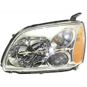 Headlight For 2005 2006 2007 Mitsubishi Galant Left With Bulb Capa