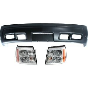 New Auto Body Repair Kit Front For Cadillac Escalade Esv Ext 2003 2006