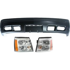 New Kit Auto Body Repair Front For Cadillac Escalade Ext 2002