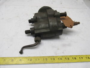 Peck Stow Wilcox Ps w No 580a Vintage Antique Deburring Tool Bench Mount