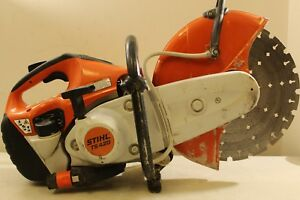 Stihl Ts420 Gas Concrete Diamond Blade Cut off Saw local Pickup 13174 D