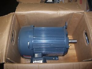 New Us Motors 3 Hp Electric Ac Motor 208 230 460 Vac 3525 Rpm 182t Frame 3 Phase