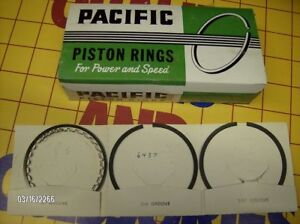 1956 78 Buick Chevy Olds Plym 361 348 400 402 425 455 Nos Piston Rings