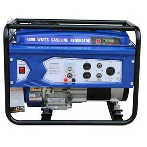 Green power Gpd4000 4000 Watt Gasoline Generator