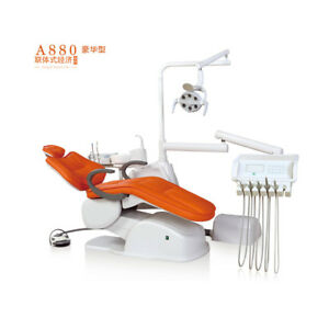 Dental Unit Integral Chair Electric Controlled A880 Upgrade 2 dentist Stool seat
