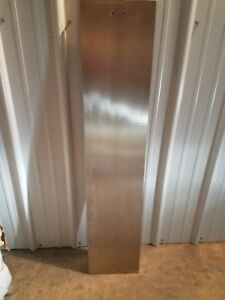 Stainless Steel Flat Bar 304 Plate 45 1 8 Length 6 Wide 7 16 Thick