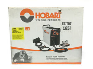 Hobart Ez tig 165i Ac dc Tig Welder 230v local Pick Up Only