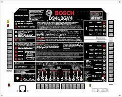 Bosch Security Systems Control Panel Model D9412gv4
