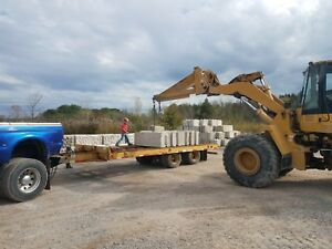 1999 Load King 10 ton 20 T a Equipment Trailer