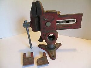 Will Burt Versa Vise Wood Working Gunsmith Tool W pipe Jaws 4 1043 5