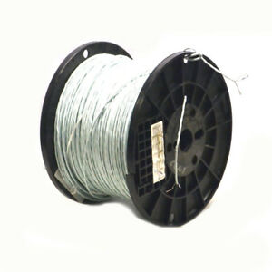 1 785 20awg Copper Wire 2 Conductor 19 Strand 600v Etfe Shielded Mil spec White