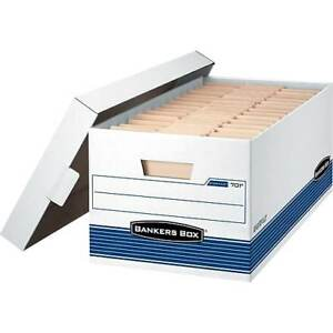 Bankers Box Stor file Medium duty Storage Boxes With Lift off Lid Letter 12