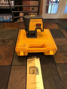 Robotoolz Rt 7610 5 Beam Level Plumb Square Laser Class Ii Diode 635nm