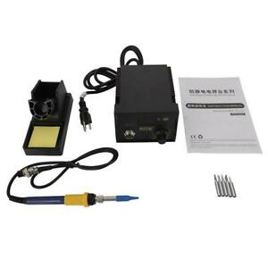 60w 110v 937d Smd Soldering Hot Iron Station Digital Adjustable W 5 Tips