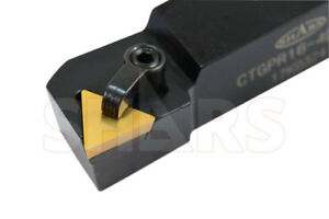 1 X 6 Left Hand Ctgp Indexable Turning Tool Holder Tpg P
