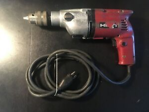 Used Hilti Corded Electric Drill made In W Germany sold As is