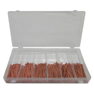 250 Pc Welding Stud Assortment 2 X 3 40 Copper Coated For Stud Welder Or Gun