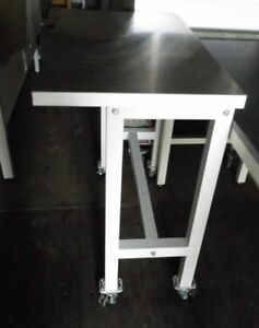 23 X 35 X 38 Tall Stainless Steel Top Laboratory Work Bench table