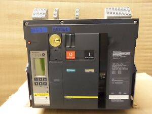 Square D Masterpact Nw25h 3 Pole 2500 Amp Lsig Circuit Breaker Flaw