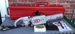 Ics 853 Hydraulic Concrete Chain Saw W Case New Chain Lightly Used Clean