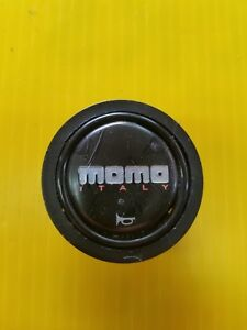 Real Authentic Used Momo Horn Button Black Oem Porsche 911 Original 8