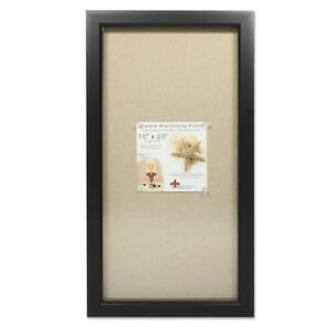 Lawrenceframes 168020 10 X 20 In Shadow Box Picture Frame Black