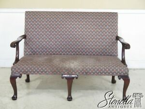 43926ec Kittinger Cw 154 Colonial Williamsburg Mahogany Settee