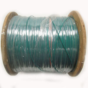 New 4 700 Ft 22awg Green Ul1015 Hook Up Wire 600v Stranded