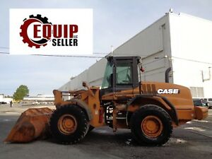 Case 612d Wheel Loader Enclosed Cab Diesel Low Hours