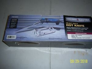 Heavy Duty Hot Knife By Chicago Electric Power Tools 60313