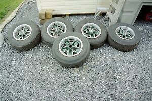 1969 Oldsmobile Rally Wheels And Tires 5 Bolt