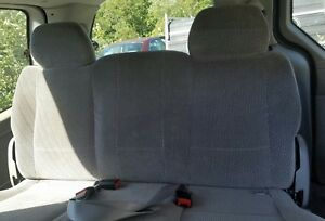 2002 Ford Windstar 3rd Third Row Rear Bench Seat Gray Cloth 1999 2003