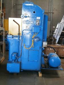 American Hydraulic Broaching Machine T 6 24 6 Tons 3 Phase 24 Stroke