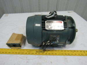 Reliance P18f1015 5hp 1715rpm 3ph230 460v 1 1 8 Shaft 184tc Electric Ac Motor
