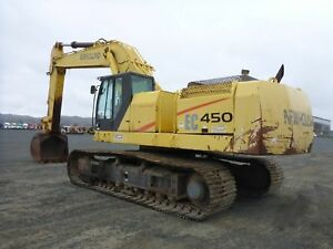 2002 New Holland Ec450 Hydraulic Excavator stock 2451