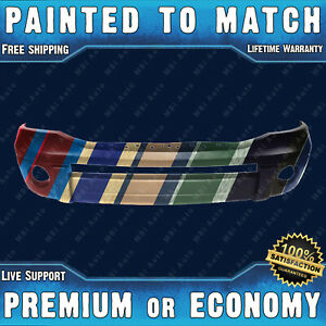 Painted To Match Front Bumper Cover Replacement For 2006 2009 Dodge Ram 06 09